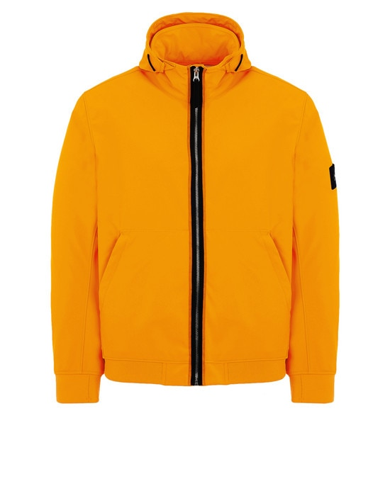 STONE ISLAND Jacket 43427 LIGHT SOFT SHELL-R FLUO
