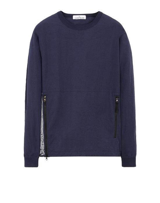 STONE ISLAND Sweatshirt 630XX STONE ISLAND MARINA_50 FILI + FOLDED MARINA PRINT