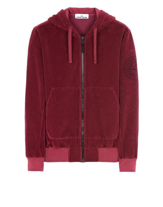 STONE ISLAND Zip sweatshirt 65939 CORDUROY