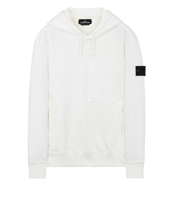 STONE ISLAND SHADOW PROJECT 스웻셔츠 60207 UTILITY HOODIE (DIAGONAL WEAVE FELPA) GARMENT DYED
