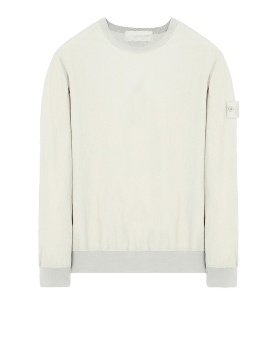STONE ISLAND Sweatshirt 659F2 GHOST PIECE_COTTON NYLON TELA