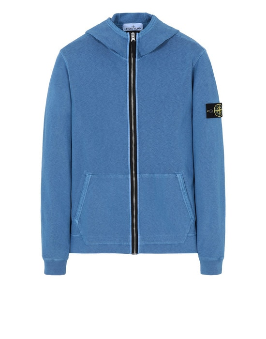 STONE ISLAND Sweat avec zip 64160 TINTO 'OLD'