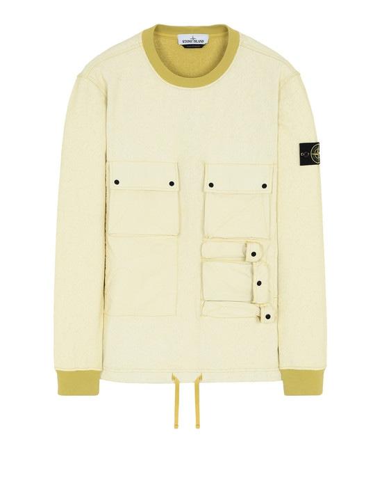 STONE ISLAND Sweatshirt 63565 FELPA PLACCATA
