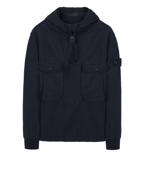 STONE ISLAND Sweatshirt 639F2 GHOST PIECE_COTTON NYLON TELA