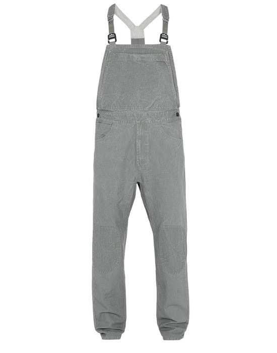 STONE ISLAND OVERALL F01J1 PANAMA PLACCATO RE-T