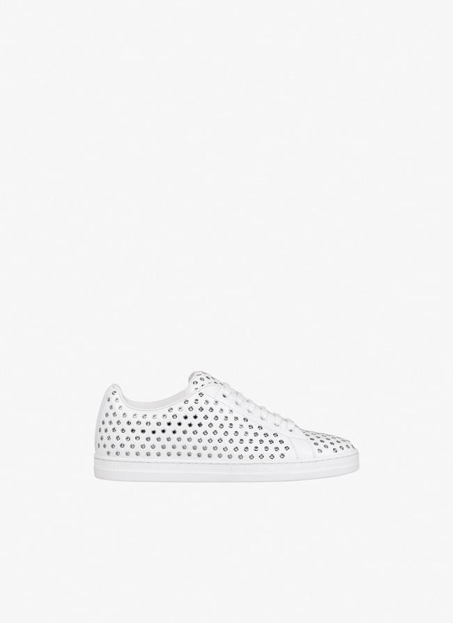 Embellished sneaker - maison-alaia.com