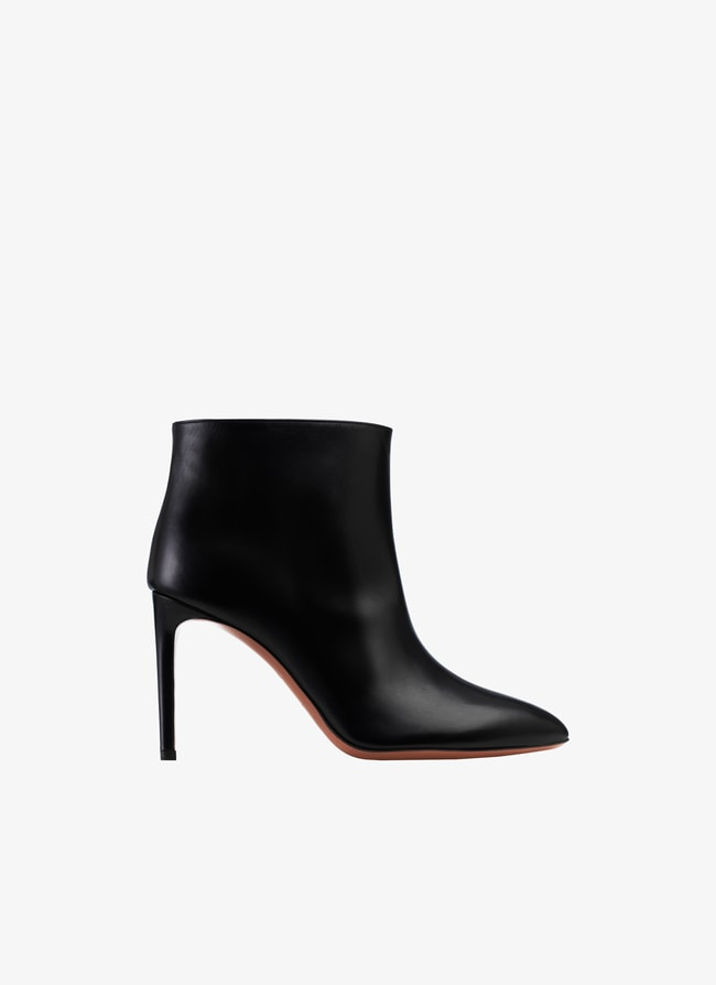 HIGH-HEELED ANKLE BOOTS  - maison-alaia.com