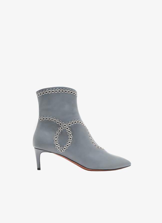 Kitten heel ankle boots - maison-alaia.com