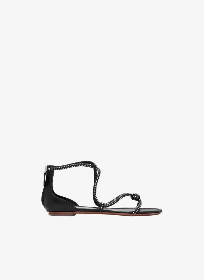 Sandales Plates - maison-alaia.com