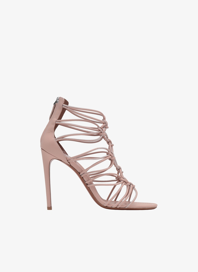 Stiletto Heeled Sandal - maison-alaia.com