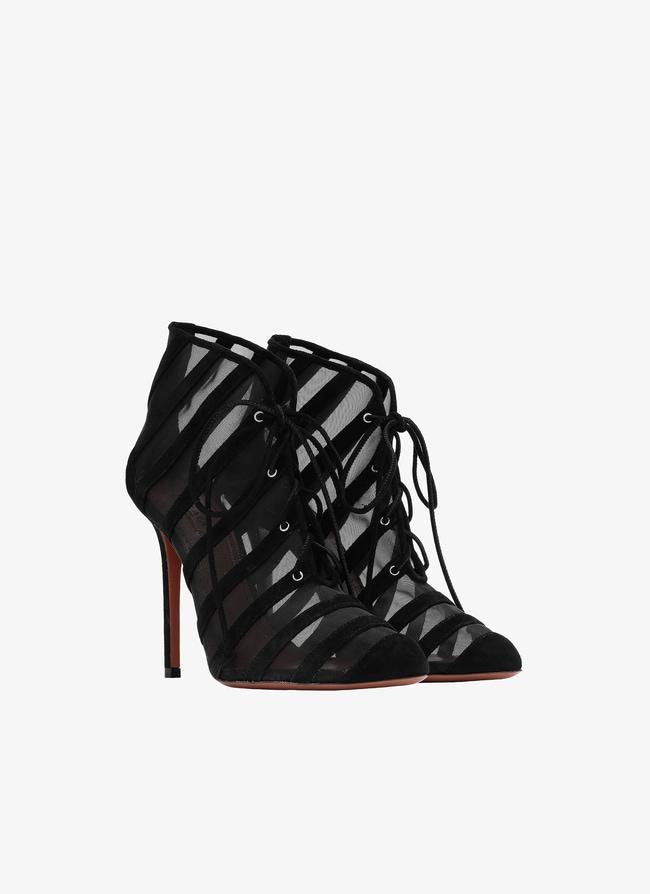 Sheer Ankle Boots - maison-alaia.com