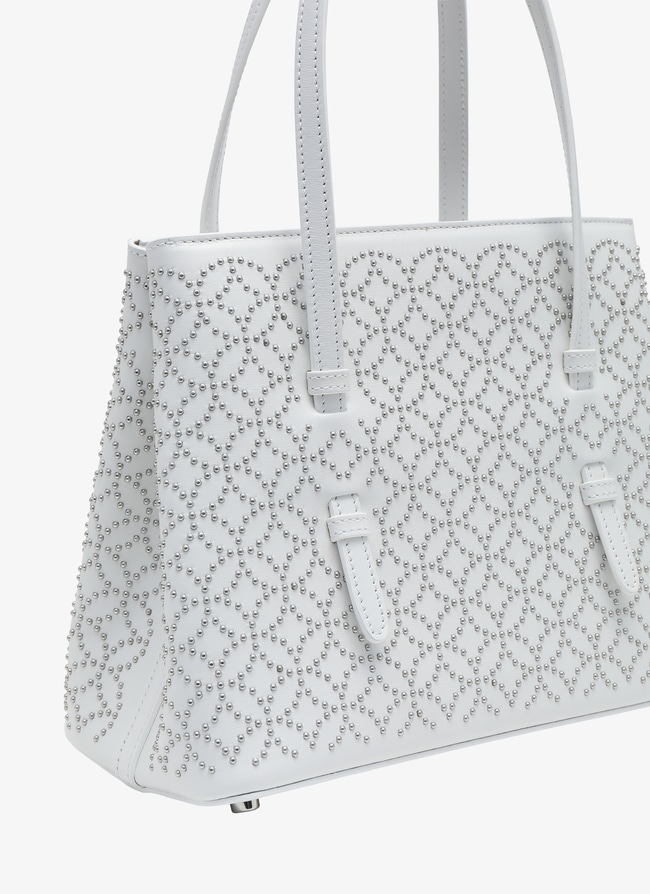Small Double-Zip Tote - maison-alaia.com