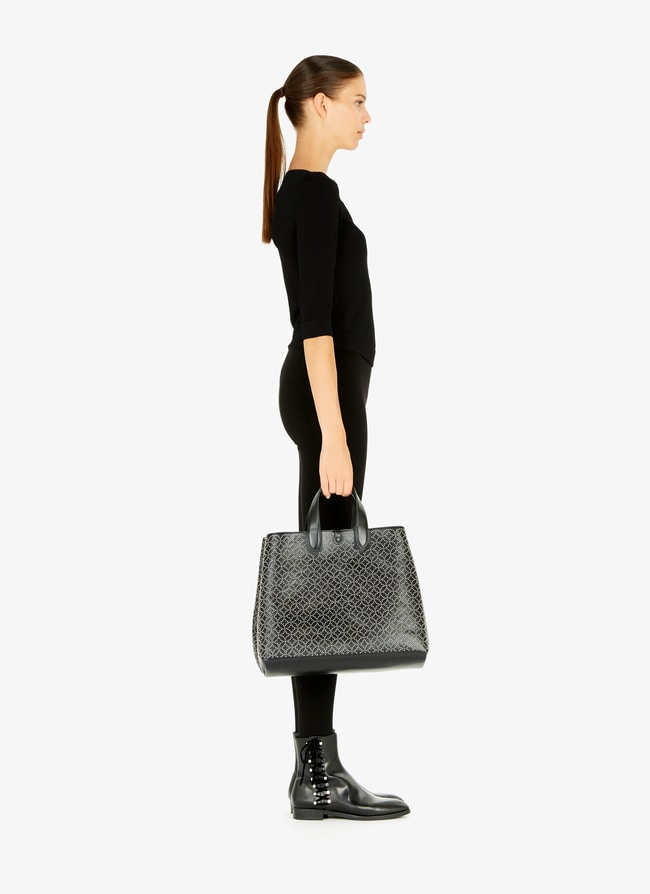Frida Large Leather Tote - maison-alaia.com