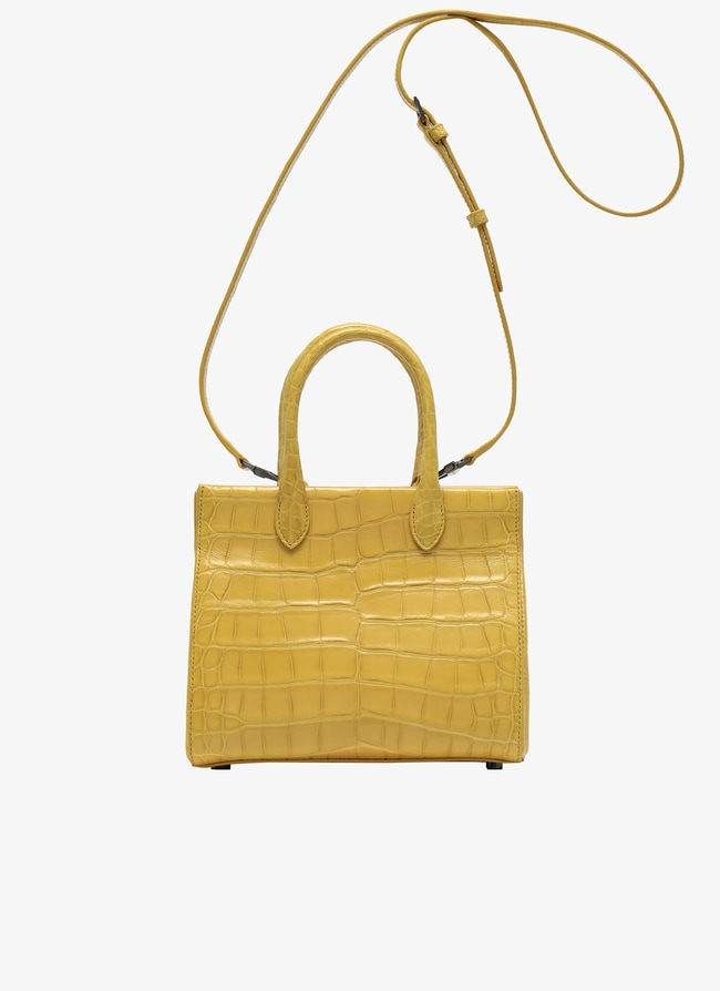 Alligator handbag  - maison-alaia.com