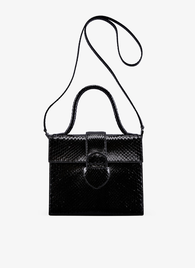 Leonie Medium top handle bag - maison-alaia.com