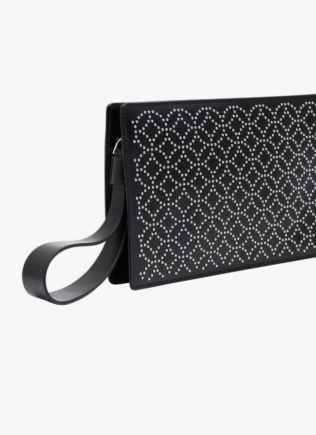 Leather Clutch - maison-alaia.com