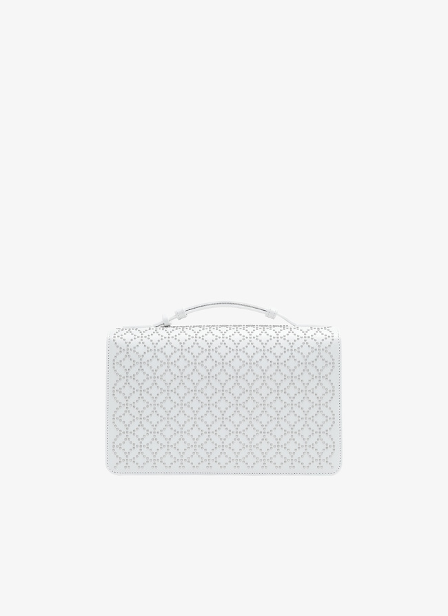 FRANCA MEDIUM CLUTCH - maison-alaia.com