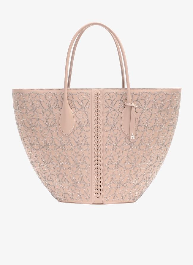 Latifa Small Zipper Tote - maison-alaia.com
