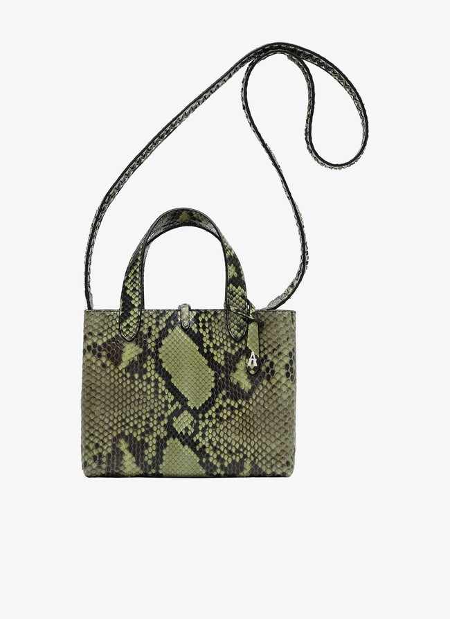 Frida Mini Leather Tote - maison-alaia.com