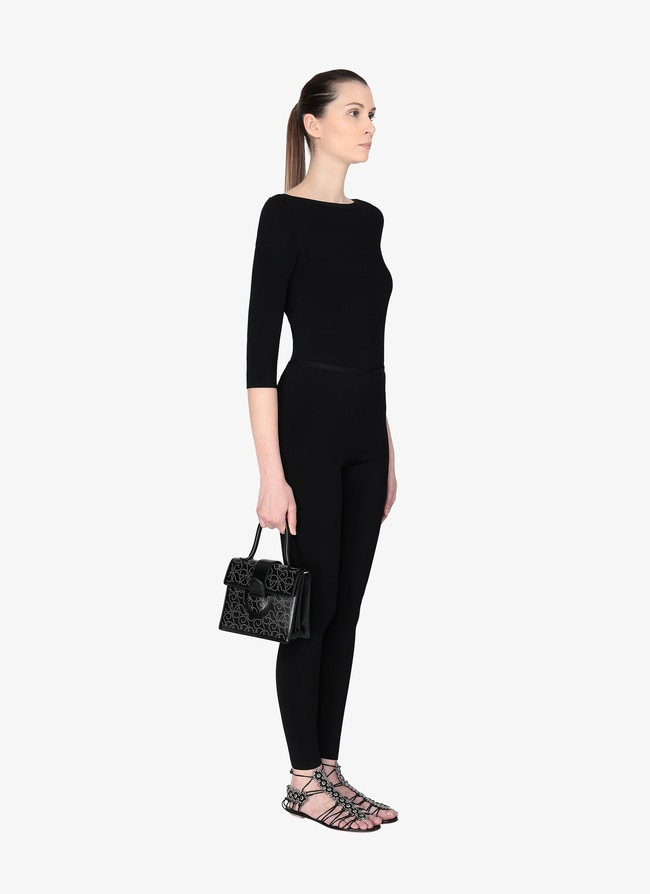 Leonie Small Top Handle Bag - maison-alaia.com