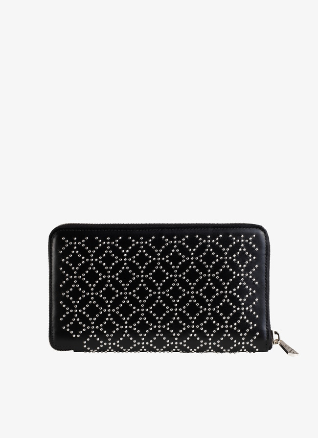 Zip-around wallet - maison-alaia.com