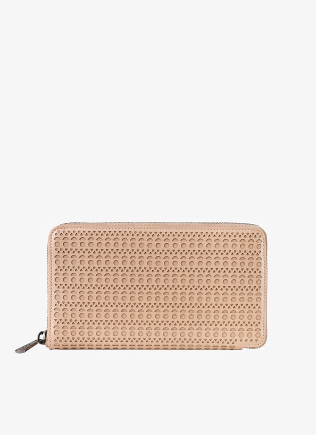 19 Zip-Around Wallet - maison-alaia.com
