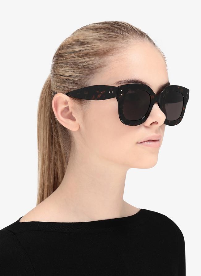 Tortoiseshell Sunglasses - maison-alaia.com