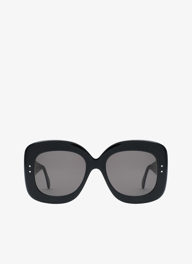 Black square Sunglasses - maison-alaia.com