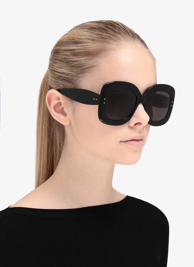 Black square Sunglasses - maison-alaia.com