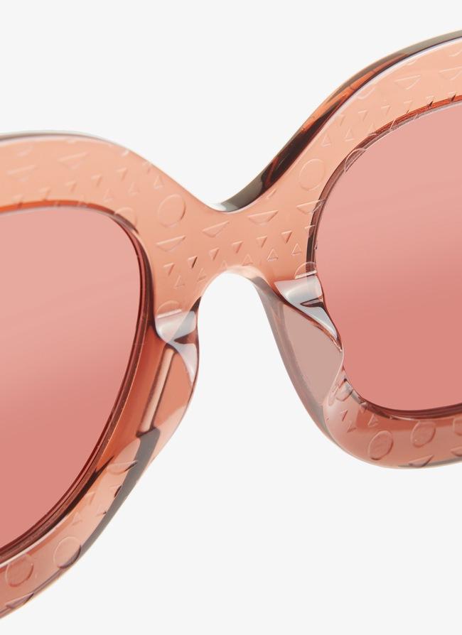 Blush-pink Sunglasses - maison-alaia.com