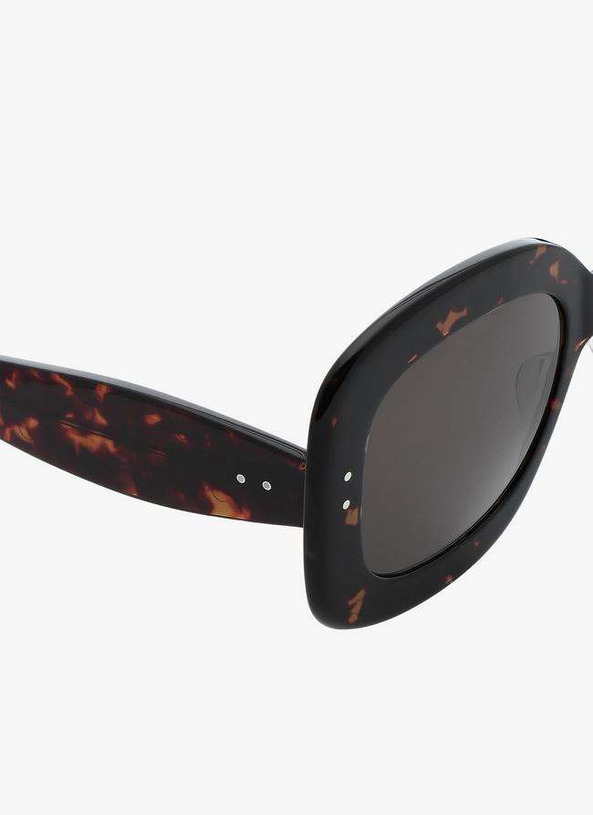 Tortoiseshell Square Sunglasses - maison-alaia.com