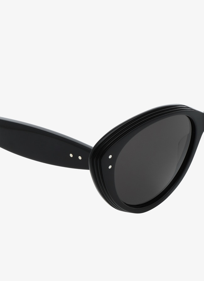 Black Cat-Eye Sunglasses - maison-alaia.com