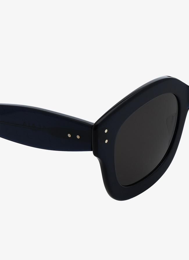 Blue-Grey Sunglasses - maison-alaia.com