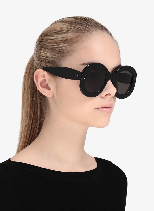 Black Squared Sunglasses - maison-alaia.com