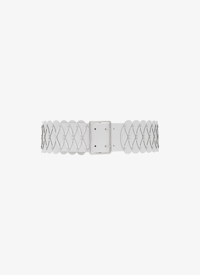 Wide Leather Belt - maison-alaia.com