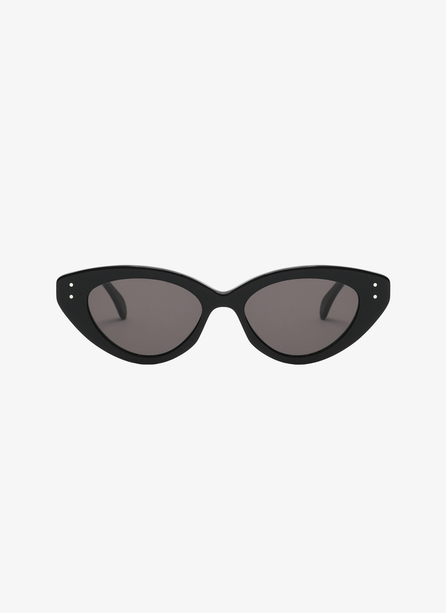Black Cat Eye Sunglasses - maison-alaia.com