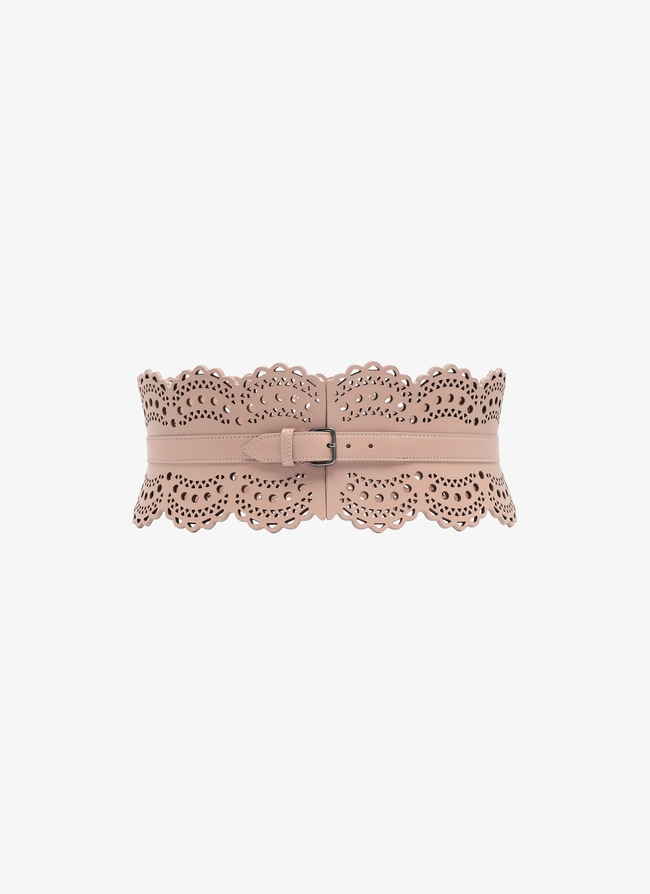 Leather Corset Belt - maison-alaia.com