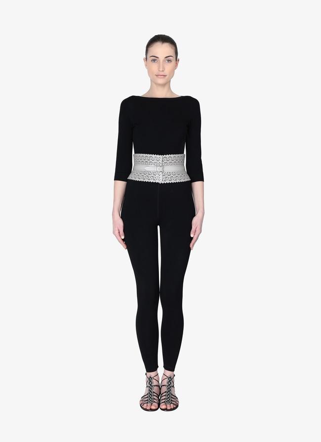 Leather Corset Belt - maison-alaia.com