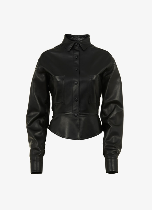 ALAÏA EDITION 1993 leather shirt - maison-alaia.com