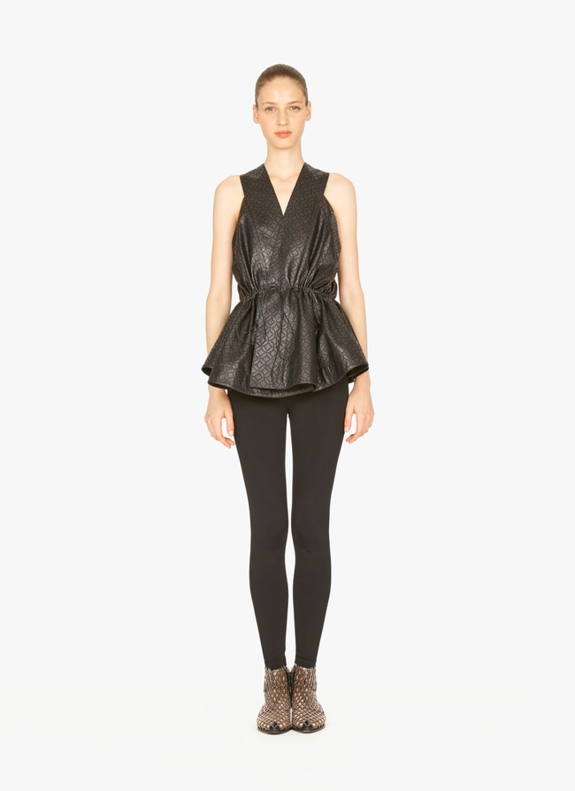 LEATHER SHIRT  - maison-alaia.com