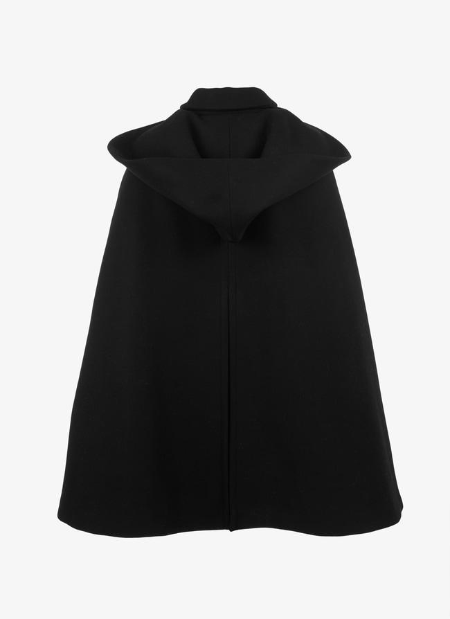 Hooded cape - maison-alaia.com