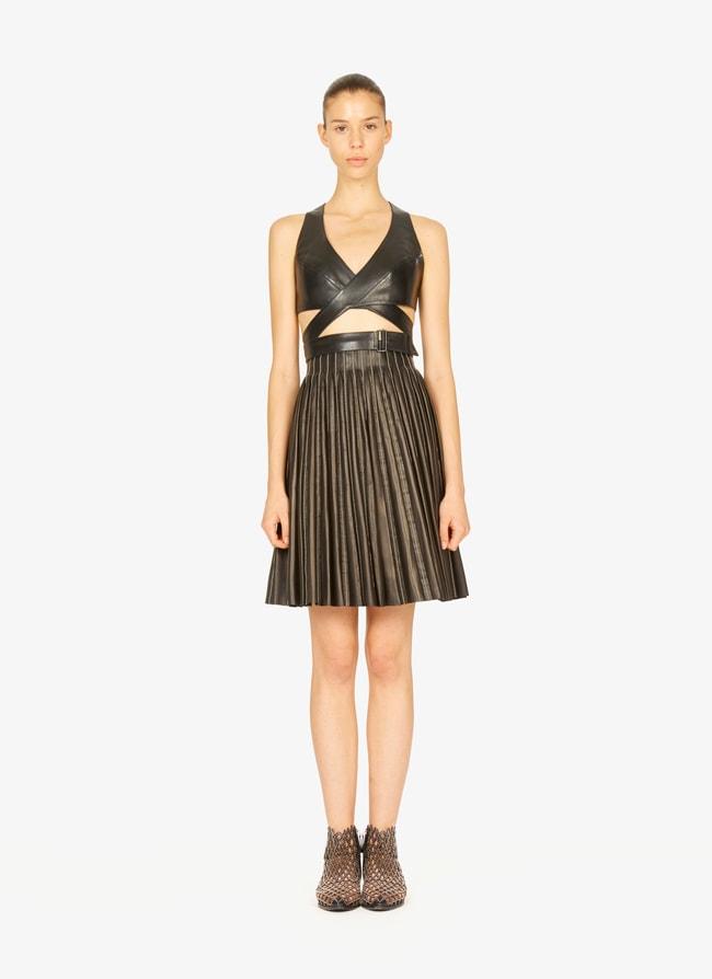 Leather bustier - maison-alaia.com