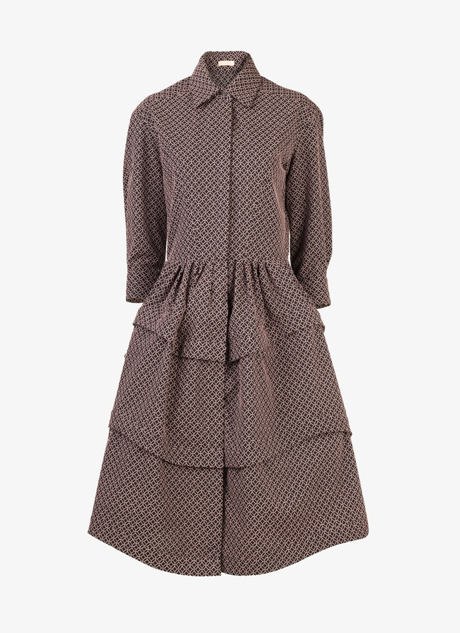 Woven shirt-dress - maison-alaia.com