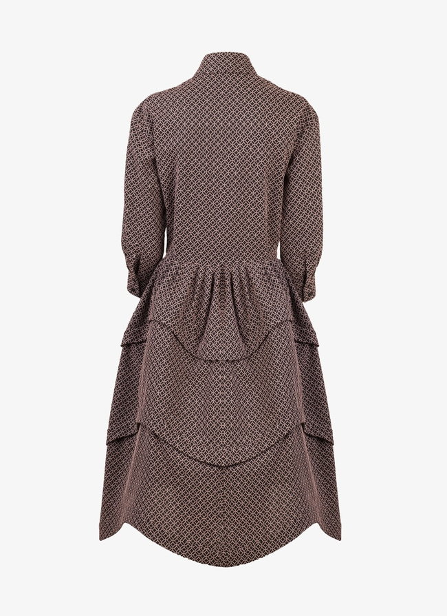 Wooven Shirt-Dress - maison-alaia.com