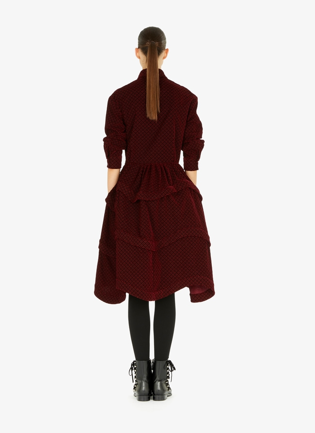 Velvet shirt-dress - maison-alaia.com