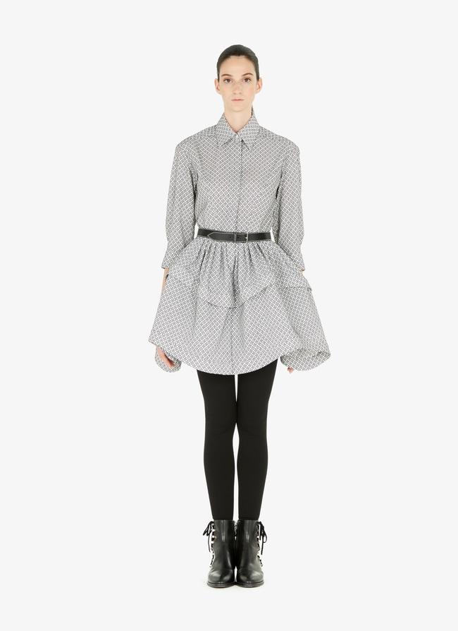Woven shirt-dress - maison-alaia.com