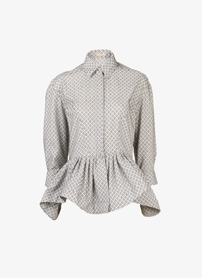 Embroidered shirt - maison-alaia.com