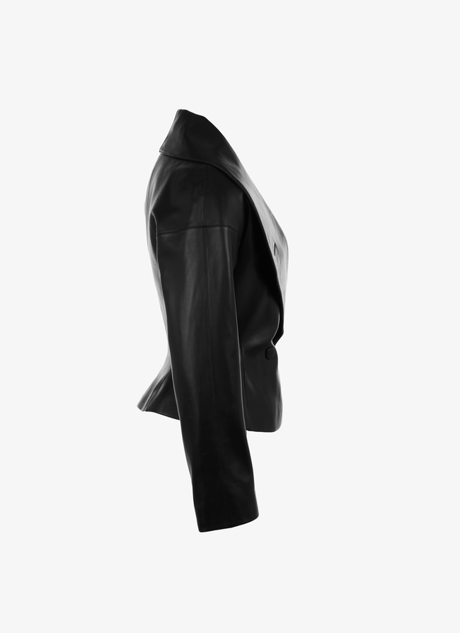 Leather Jacket - maison-alaia.com