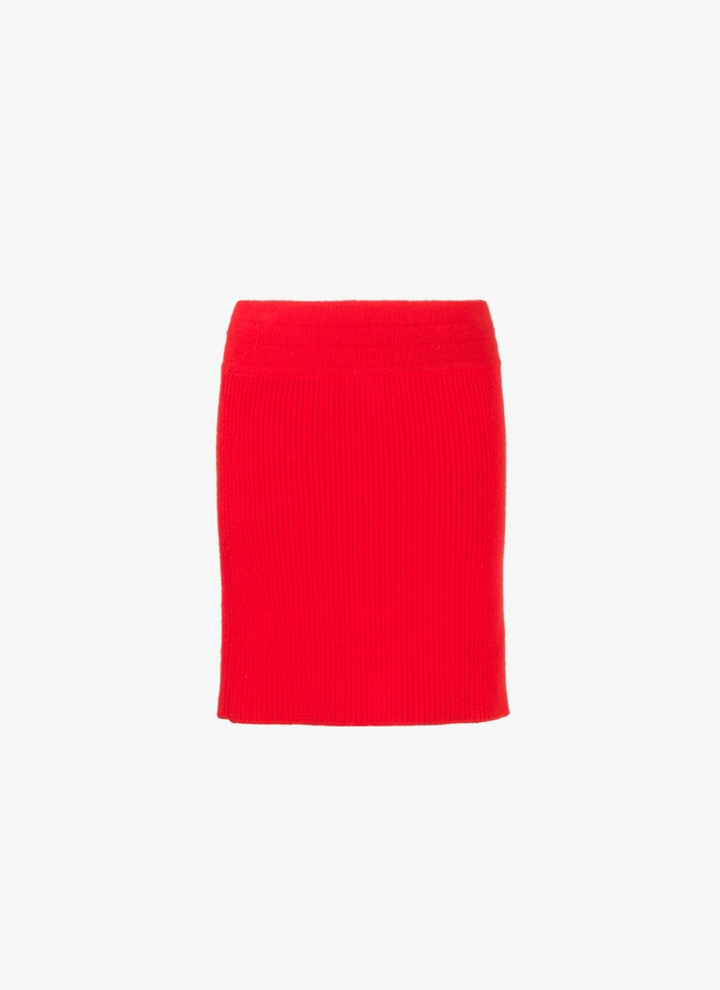 Alaïa Edition 1985 Fitted Mini Skirt - maison-alaia.com
