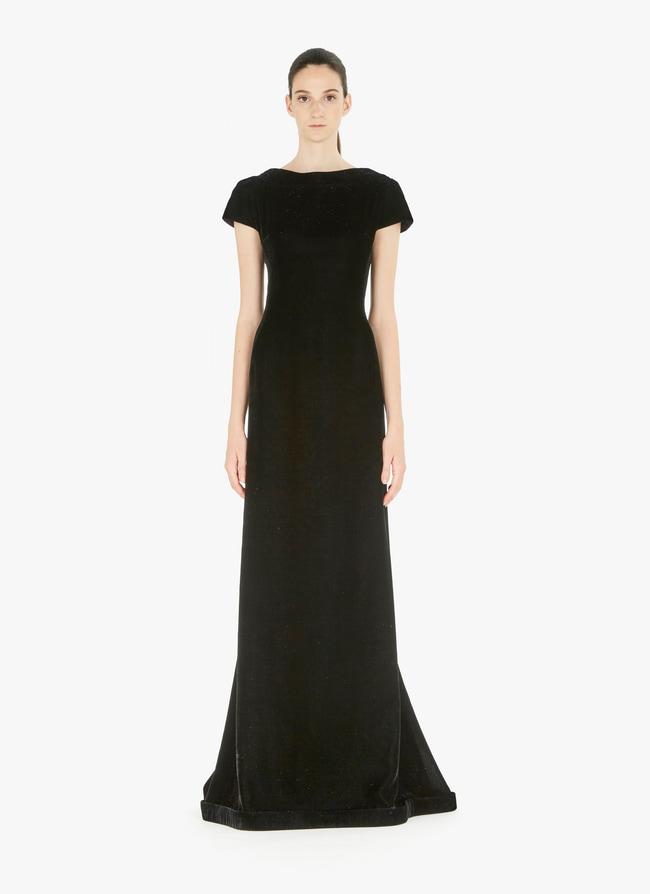 Long velvet dress - maison-alaia.com